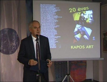 20 éves a Kapos ART - képzőművészeti kiállítás és szimpózium