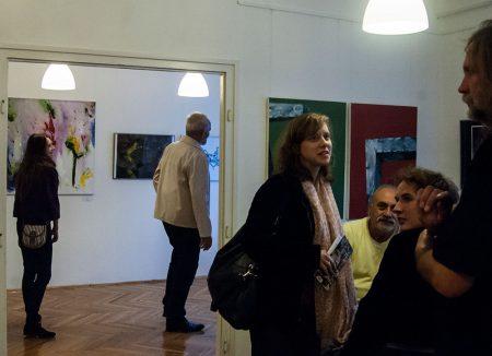 Kiállításmegnyitó a Kaposart Kortárs Galériában