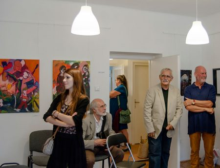 Geri Varga kiállításának megnyitója a Kapos Art Kortárs Galériában
