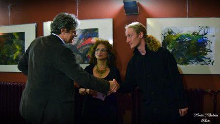 Időnként... - Vörös Ádám kiállítása a Csiky Gergely színházban