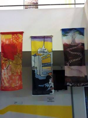 Művész-zászló kiállítás Csontváry halálának 100. évfordulójára
